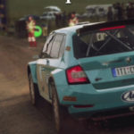 Škoda Fabia R5 WET Gravel Setup 1