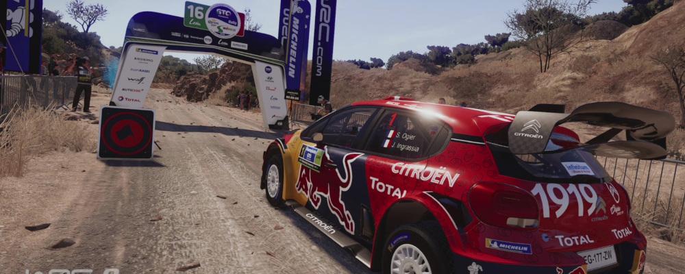 WRC 8 Citroën C3 México Setup 01