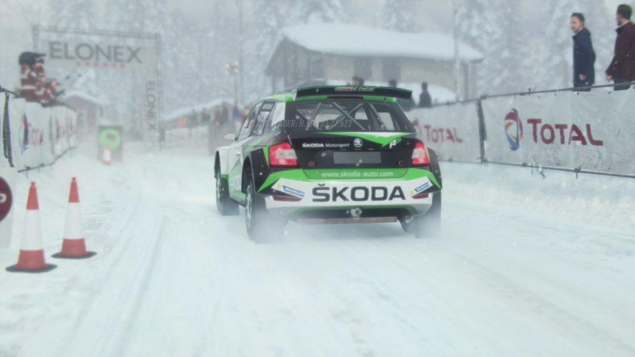DiRT Rally 2.0 Škoda Fabia R5 Swede Setup 1