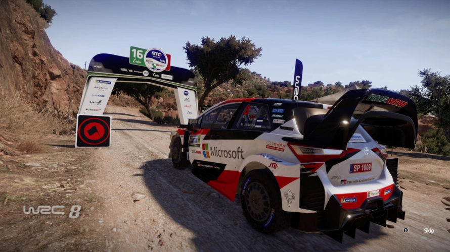 WRC 8 Yaris Mexico Setup 1