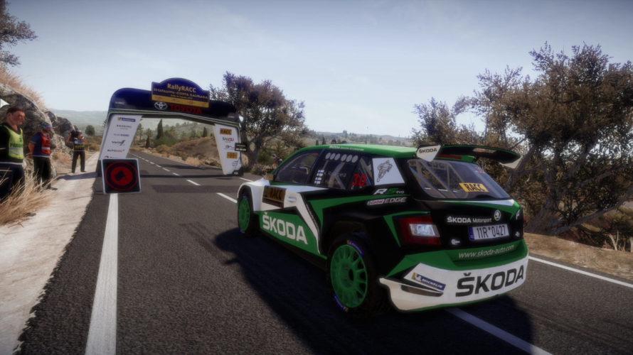 WRC 8 Škoda Fabia Spain Setup 1