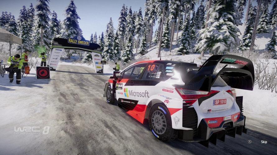 WRC 8 Toyota Yaris Sweden Setup 1