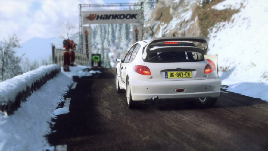 DiRT Rally 2.0 Peugeot 206 WR Car setup Monte Carlo 1