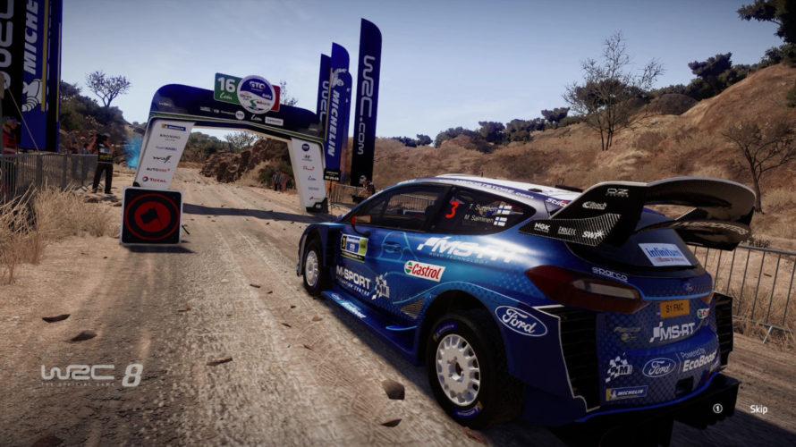 WRC 8 Fiesta Car Setup México 1