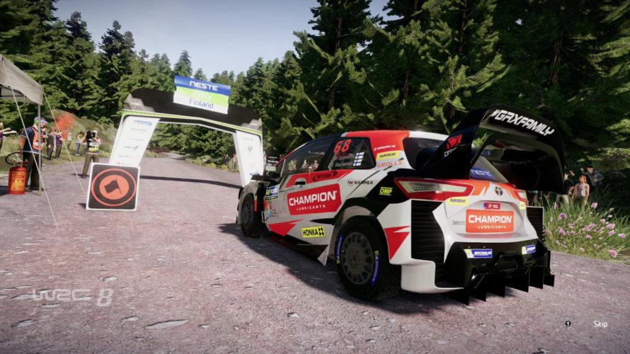WRC 8 Toyota Yaris Car Setup Ouninpohja 1