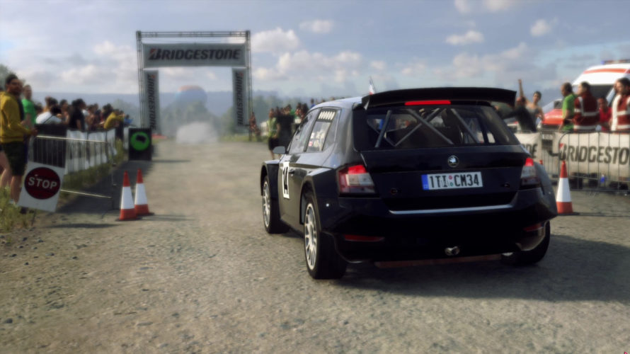DiRT Rally 2.0 Škoda Fabia R5 Car setup GERMANY 1