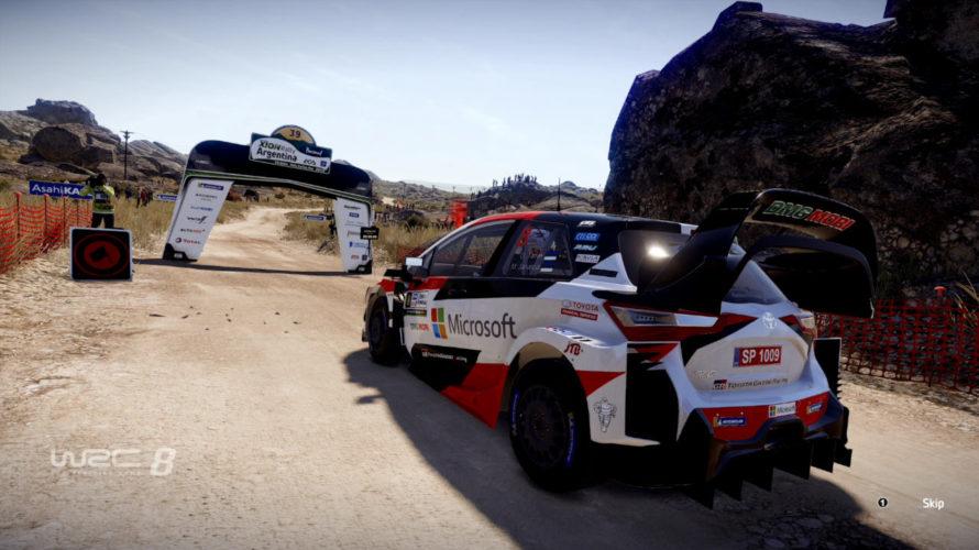 WRC 8 Toyota Yaris Car Setup Argentina1