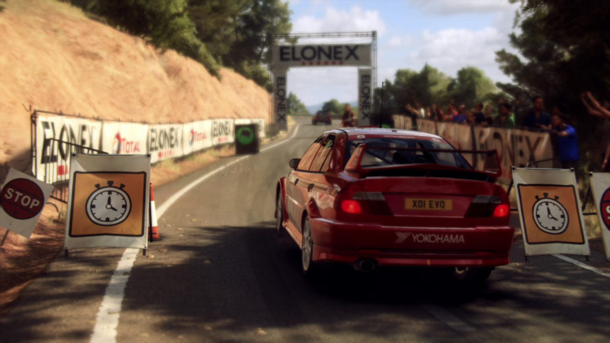 DiRT Rally 2.0 Mitsubishi Lancer Evo VI Car setup Spain 1