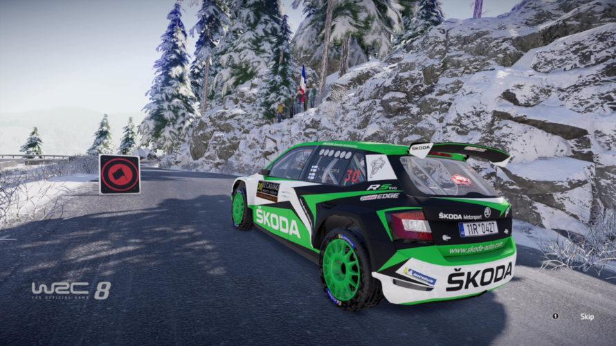 WRC 8 Škoda Fabia WRC2 Car Setup Monte Carlo 1