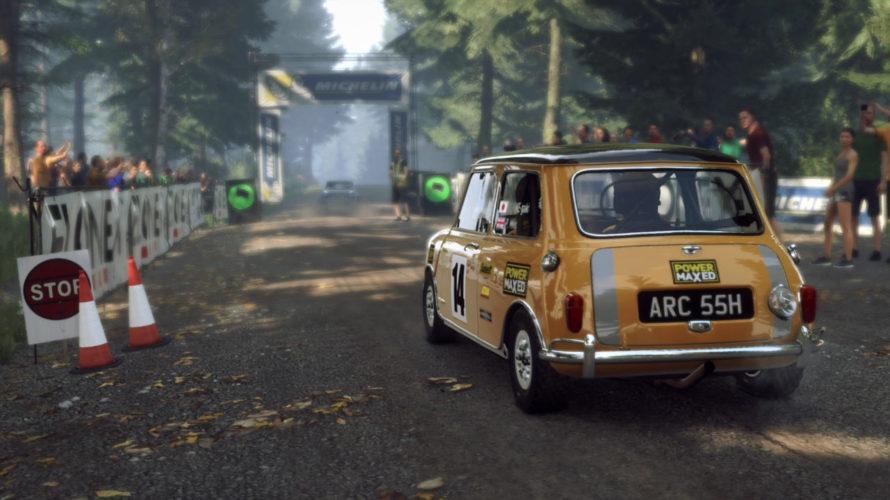 DiRT Rally 2.0 Mini Cooper S Car setup Finland 1