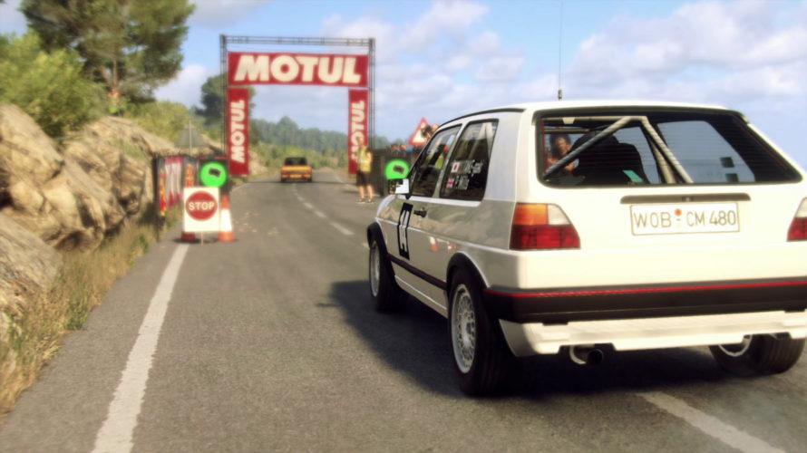 DiRT Rally 2.0 Volkswagen Golf GTI Car setup SPAIN 1