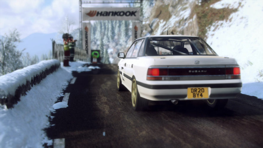 DiRT Rally 2.0 Subaru Legacy RS WRC Car setup Monte Carlo 1