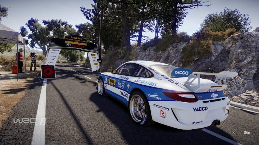 WRC 8 Porsche 911 GT3 RS R-GT Car Setup Spain 1