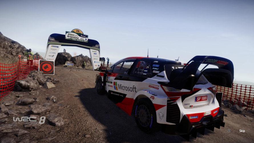 WRC 8 Toyota Yaris WRC Car Setup Argentina Cantera 1