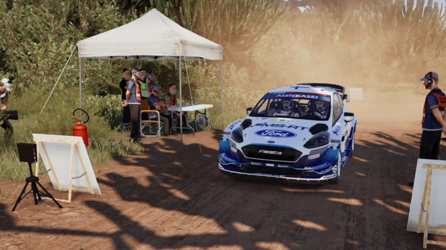 WRC 9 Ford Fiesta WRC Car Setup Kenya 1