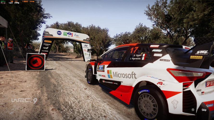 WRC 9 Toyota Yaris WRC Car Setup Mexico 1