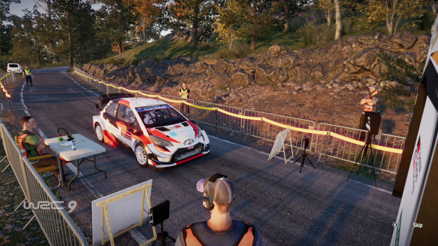 WRC 9 Toyota Yaris WRC Car Setup Japan 1