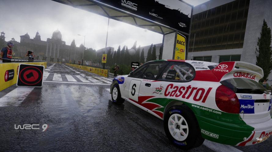 WRC 9 Toyota Corolla WRC Car Setup CATALUNYA 1
