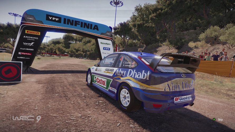 WRC 9 Ford Focus RS WRC Car Setup Parque Tematico 1