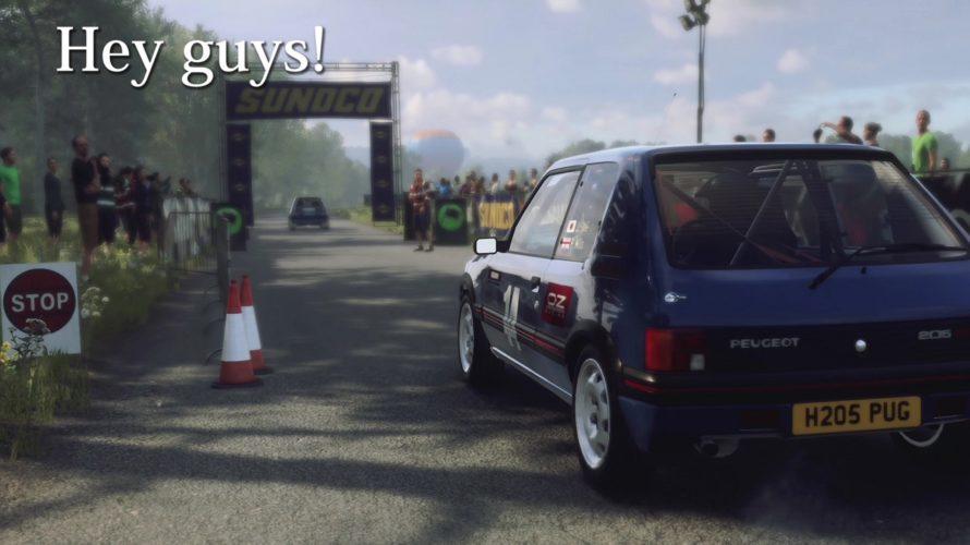 DiRT Rally 2.0 Peugeot 205 GTI Car setup Deutschland 1