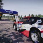 WRC 9 Toyota GR Yaris WRC Car Setup Finland 1