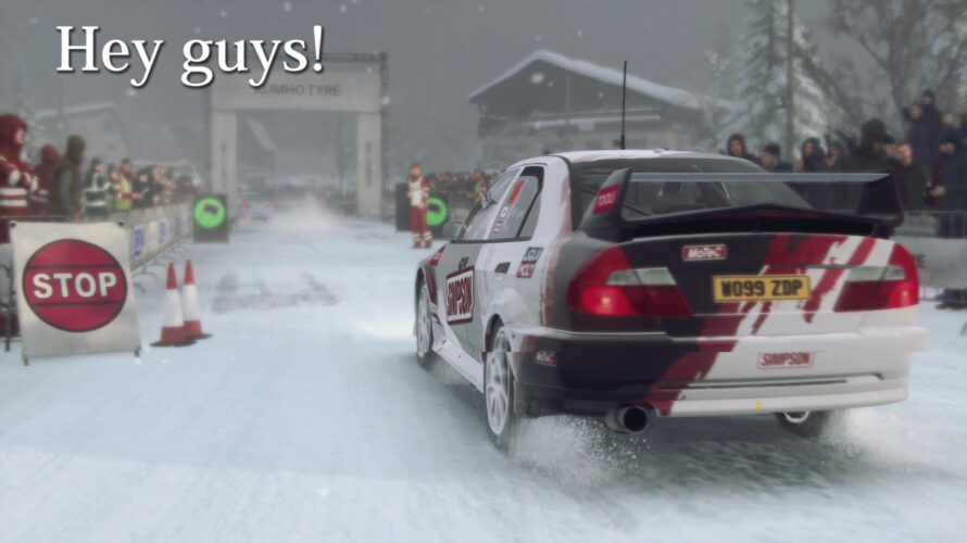 DiRT Rally 2.0 Mitsubishi Lancer Evo VI Car setup Monte Carlo 1