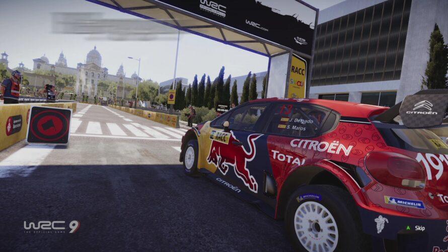 WRC 9 Citroën C3 WRC Car Setup Barcelona 1