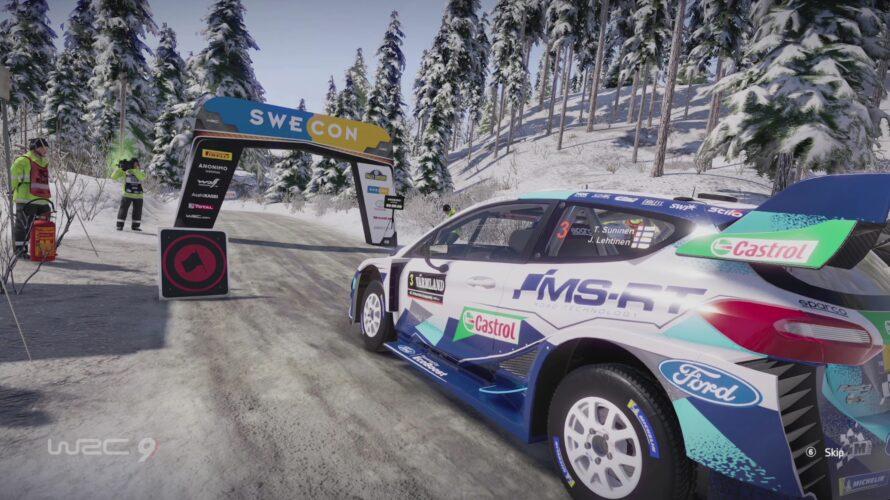 WRC 9 Ford Fiesta WRC Car Setup Sweden 1