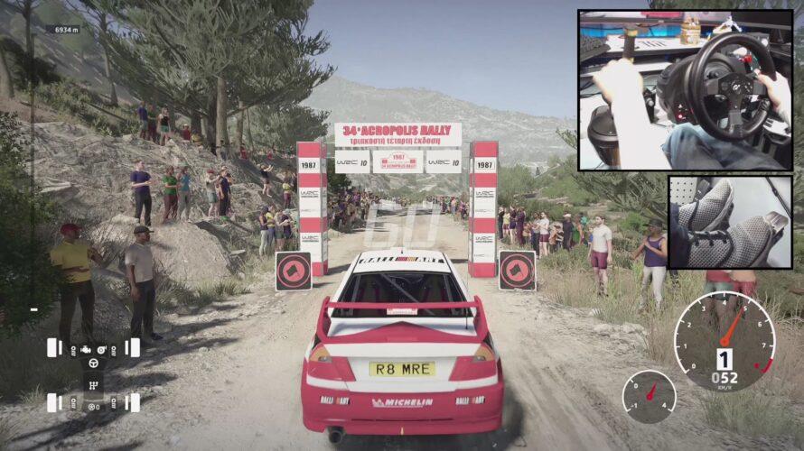 Mitsubishi Lancer Evo V WRC Car Setup Acropolis 2