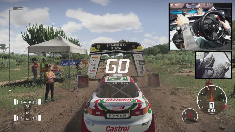Toyota Celica GT4 Car Setup Kenya 1