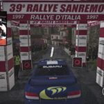 SUBARU Impreza WRC Car Setup Sanremo 1